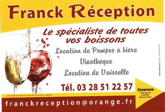 Franck Réception